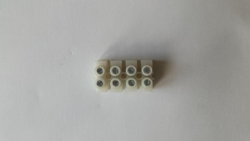 Rysunek 5 Listwa zaciskowa 4 torowa 2,5mm2 10A