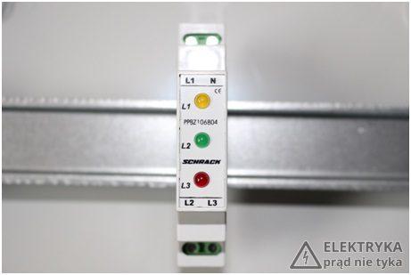 RYS. 3. Lampka sygnalizacyjna 3-fazowa
