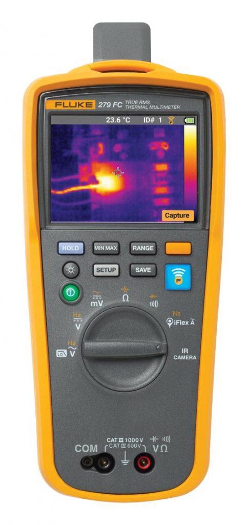 Multimetr z kamerą termowizyjną Fluke 279FC