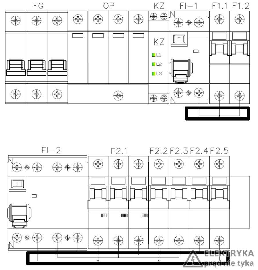 Prefabrykacja Rozdzielnicy 3 Fazowej Do Mieszkania W Bloku