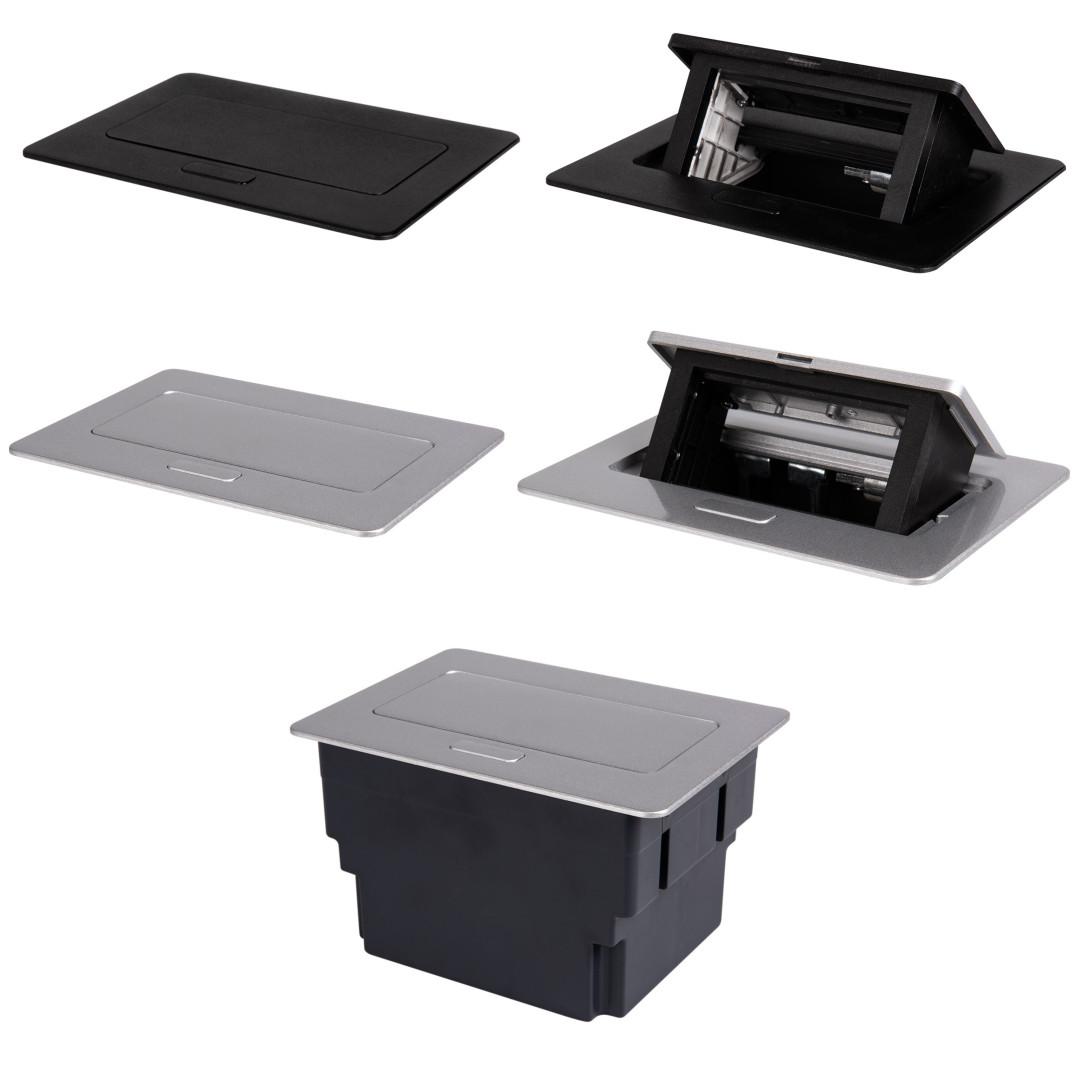 BIURO plus puszka stołowa POP-UP metalowa 2 x M45 (4)