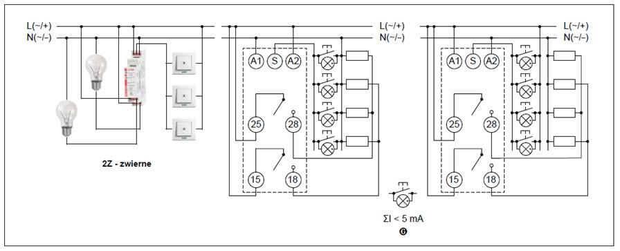 Schemat połączeń RPB-2Z-U24