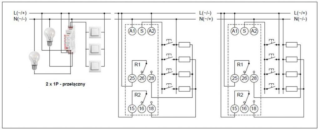 Schemat połączeń RPB-2PSM-UNI